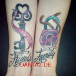 friends and family tattoo