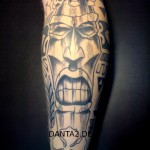 Tribal Tattoo Maske 2